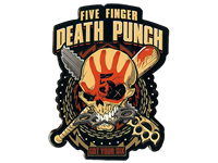 Five Finger Death Punch - promoted with Haulix